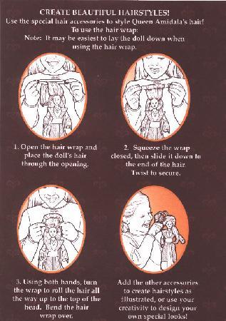 Hair Wrap Instructions